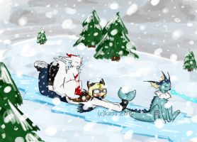 Kris- Challenging the Blizzard by kasu