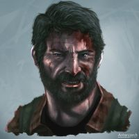 Joel The Last Of Us by antonjorch