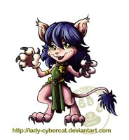Kitty Chibi by lady-cybercat
