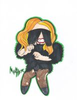 Unreleased Monster Ball Chibi 7 by GAGAISMYSOUL