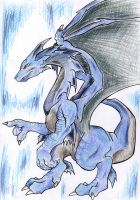 Ice dragon by HasegawaVega