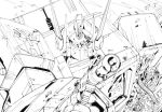 G1 Optimus Prime and Megatron_ink by marble-v