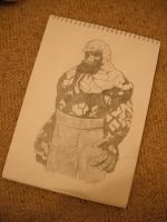 Sketchbook 1- The Thing by Will1885