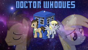 Doctor Whooves and Derpy by PaperSpeakersWat