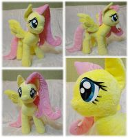 Fluttershy plush by Rens-twin