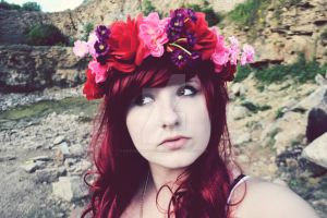 Flower Queen by KayleighBPhotography