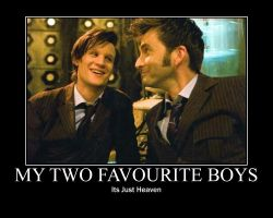 My Two Favourite Boys by WhovianForLife