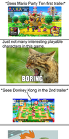 My reaction to DK being playable in Mario Party 10 by ArthurEngine