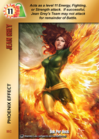 Jean Grey Special - Phoenix Effect by overpower-3rd
