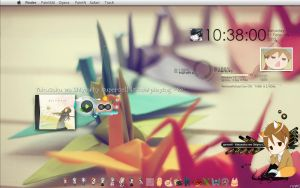 Current Desktop: origami also by milkkybunny