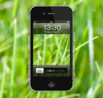 Simple Grass (iPhone 4/4S Wallpaper) by Thrasko
