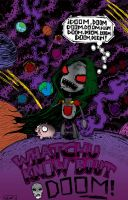 Doctor Doom Gir - Colored by PsychoMunkee