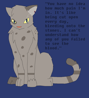 Ashfur- Ruled by a Broken Heart by animenerd26