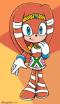 Tikal the Echidna by Aamypink