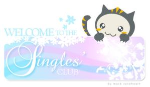 Singles' Club banner by novice27