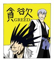 Bleach Greed-Seven Deadly Sins by Scribble-Chick