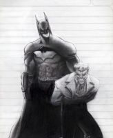 Batman AA school scketch by dartbaston