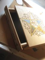5 Element Book Box WIP by WillowForrestall
