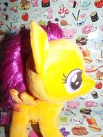 (MLP)Build a Bear Scootaloo Plushie(Face) by KrazyKari