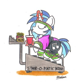 Stair-O-Matic by bobthedalek