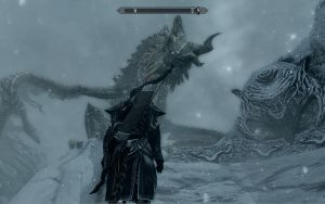 Skyrim: Me and the dragon by Kalix5