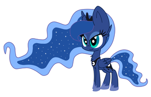 Princess Luna Chibi by Mx-Robotnik