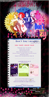 DontSayLazy_JournalSkin by Hinachuu