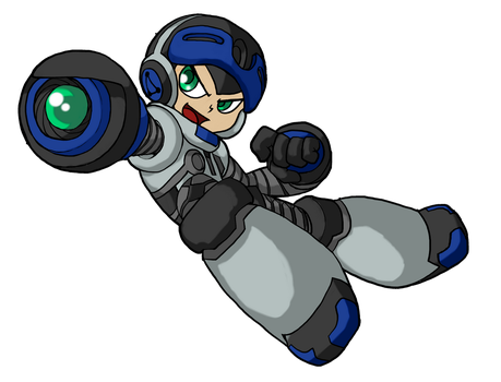 MightyNo9(fausto) by Ajudante