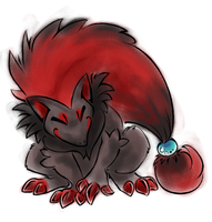 Zoroark Tattoo by 0okamiseishin