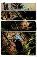 Nick Fury- Pg 3 Colors by Mooneyham