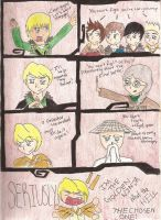 Lloyd never gets to fight. . . by TombRaiderNinja