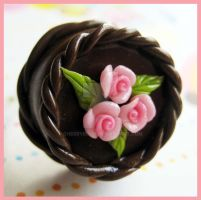Chocolate Cake Ring by cherryboop