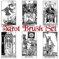 Tarot Brushes by CatONineTails