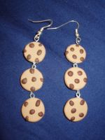 Choco Cookie Earrings by KittyAzura