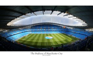 The Stadium of Manchester City by Rxj0n
