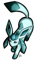 Glaceon Sticker by Smudgeandfrank