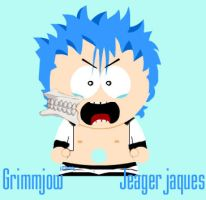 Grimmjow Jeagerjaques by Gundambaby