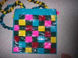 Duct Tape Bag by illcoveryouwjh