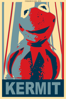 Kermit For President by Mommy-of-Ein