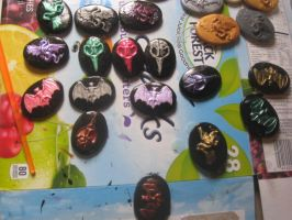 WIP Cameo Pendants by WillowForrestall