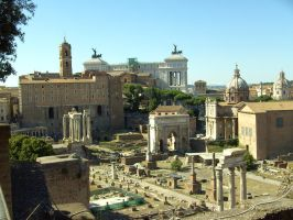 Roman Forum by Purple-Sunlight