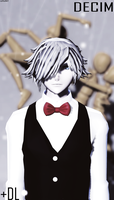 [MMD]Death Parade Decim+DL[Thanks for 200 watches] by OLOKL