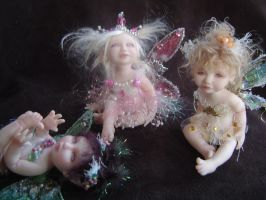 Three Little Fairies by LindaJaneThomas
