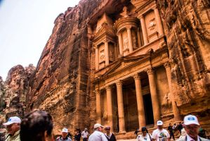 Petra treasury by ShlomitMessica