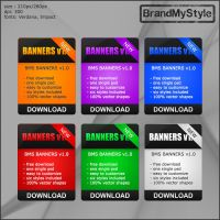 BANNERS v1.0 by brandmystyle