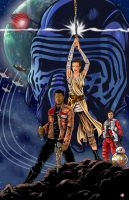 Star Wars A New Hope Awakens by WiL-Woods