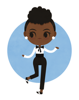Janelle Monae by beyx