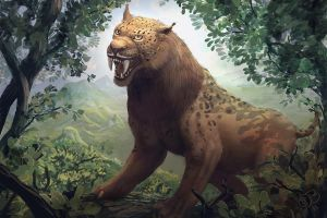 sabertooth by Bamoon