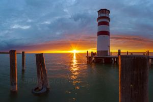 lighthouse romantic by photoplace