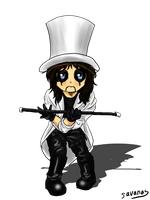 Chibi Alice Cooper by SavanasArt